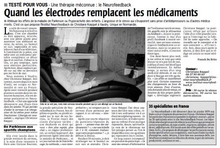 Quand les électrodes remplacent les médicaments